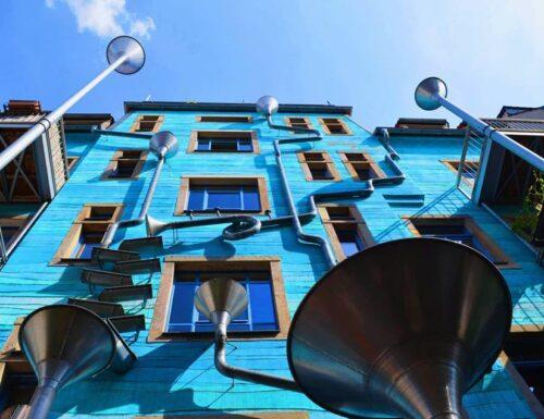 Dresda: il palazzo che suona quando piove