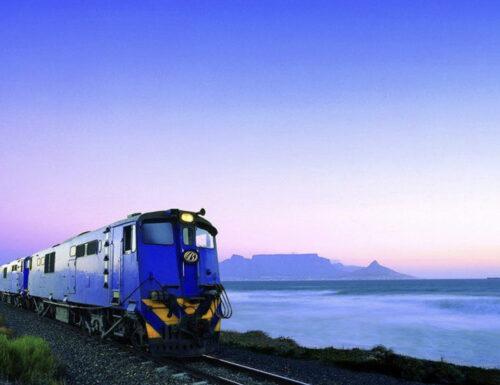 Da Pretoria a Città del Capo a bordo del Blue Train, il treno più lussuoso del mondo