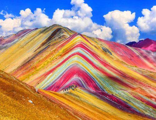Rainbow Mountains: le spettacolari montagne colorate del Perù