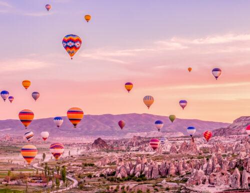 Cappadocia in mongolfiera: in volo sulla valle di Göreme