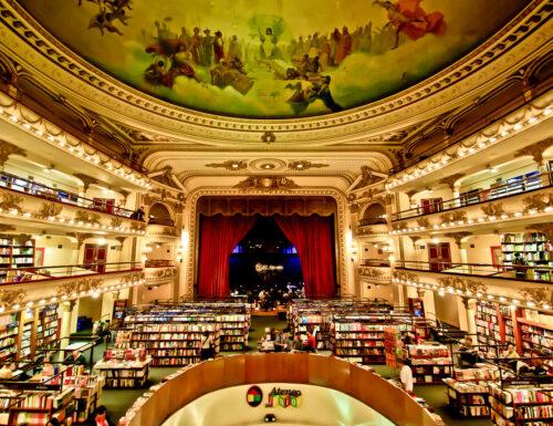 """""""El Ateneo"""" a Buonos Aires: una delle librerie più belle del mondo"""