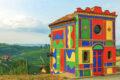 La chiesa più colorata del mondo si trova nelle Langhe ed è la Cappella del Barolo