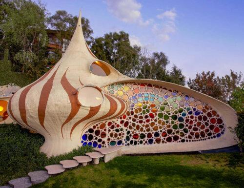 Abitare in una conchiglia: la spettacolare Nautilus House a città del Messico